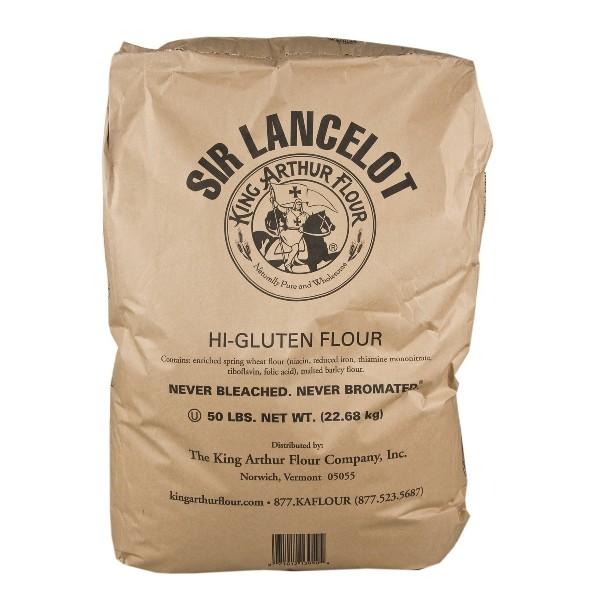 Sir Lancelot Hi-Gluten Flour 50lb King Arthur BULK | eBay